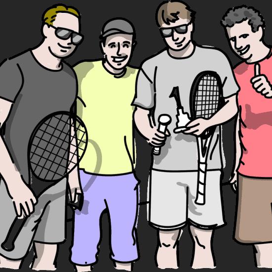 """Efektivně strávená """"tenisová indispozice"""""""